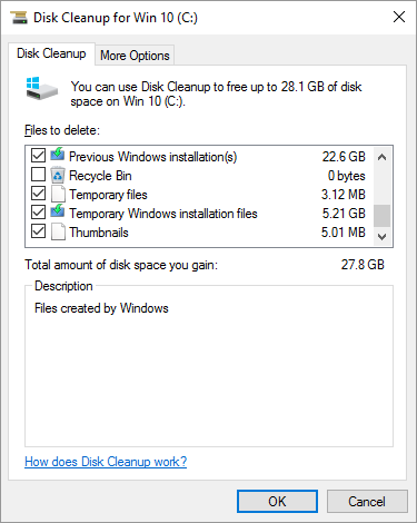 Disk Cleanup 8